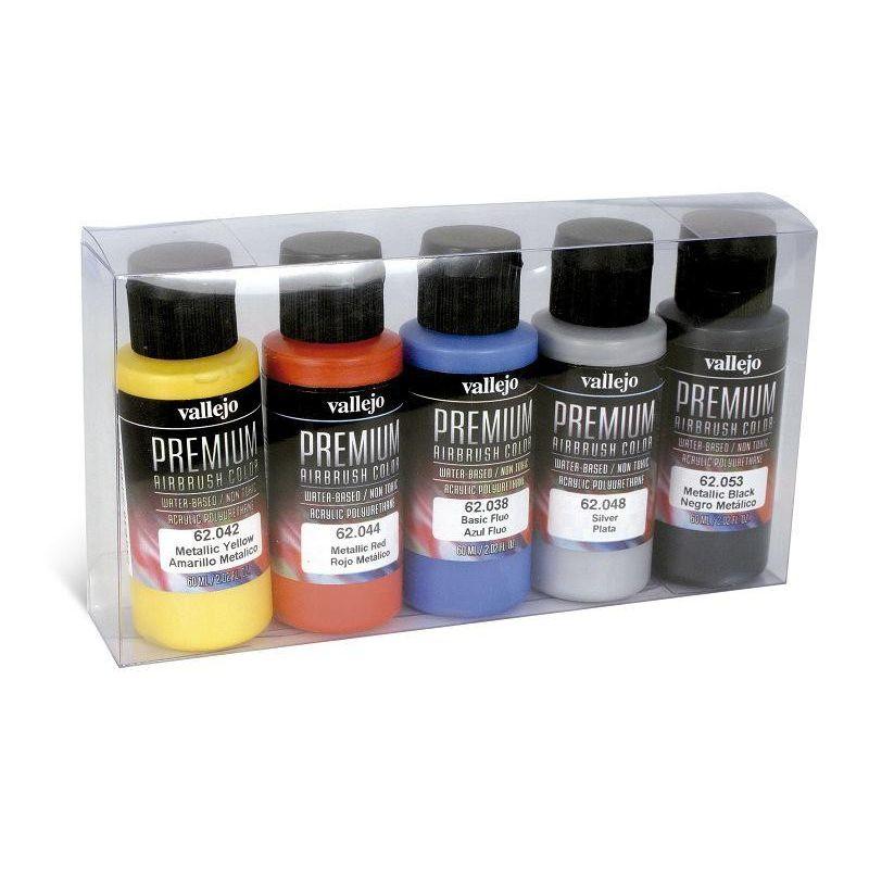 Premium Metallic Color Set, Premium Color