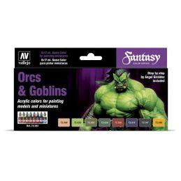 Orcs & Goblins (8) por Angel Giraldez, Game Color