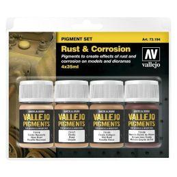Óxido y Corrosión, Pigments