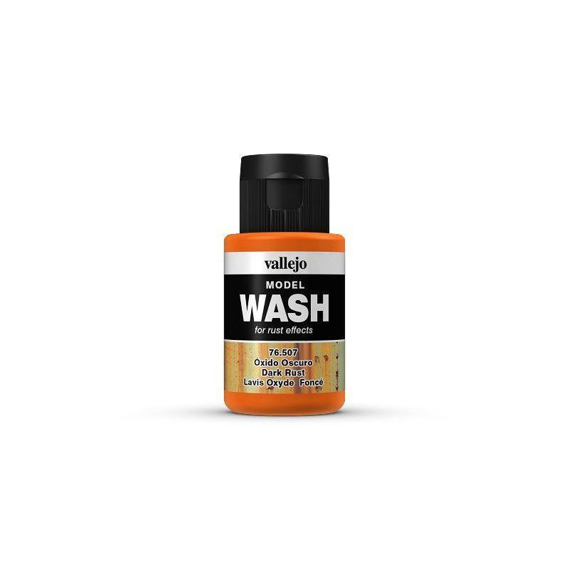 Oxido Oscuro, Model Wash