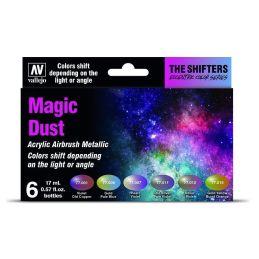 Magic Dust set (6x17ml.), Set