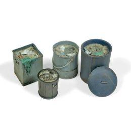 Cubos de basura mod. 2, Diorama Accessories