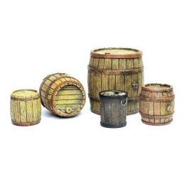 Barriles de madera, Diorama Accessories